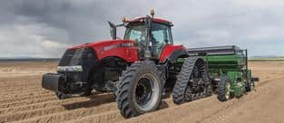 Magnum 380 CVT Rowtrac with Potato Planter