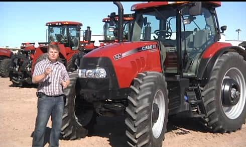 Case IH Maxxum Series Tractor Walkaround