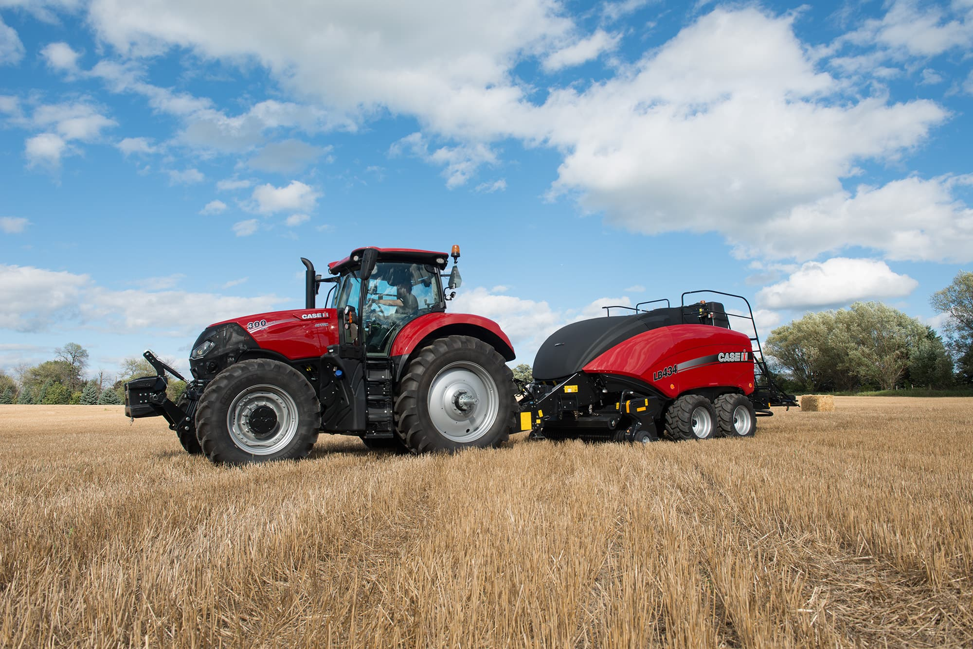 Optum-300 | High Horsepower Tractors | Case IH on