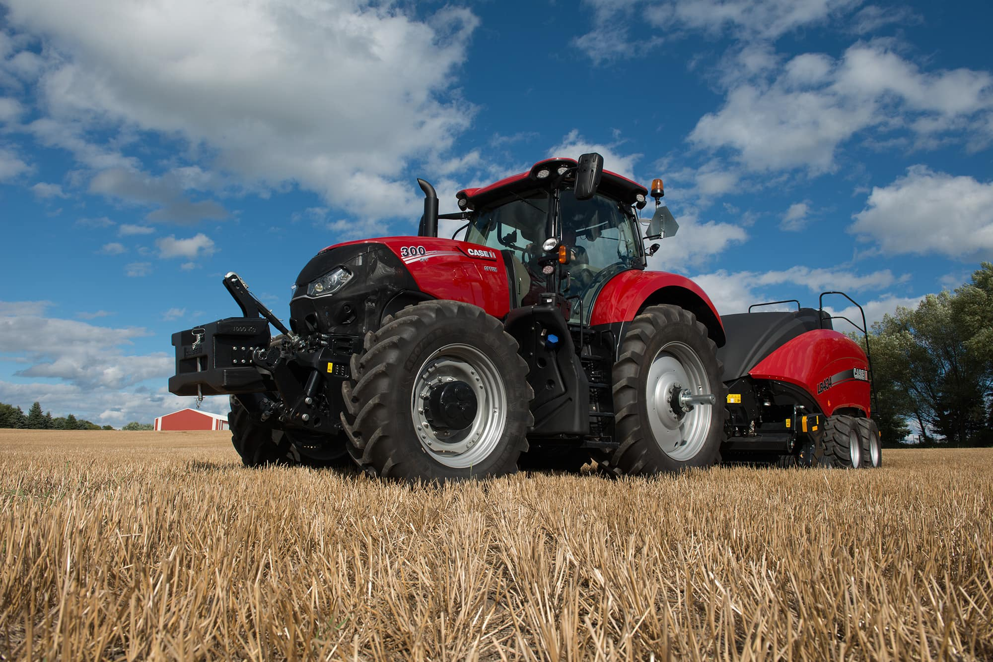 Optum Series | Row Crop & Hay & Forage Tractors | Case IH