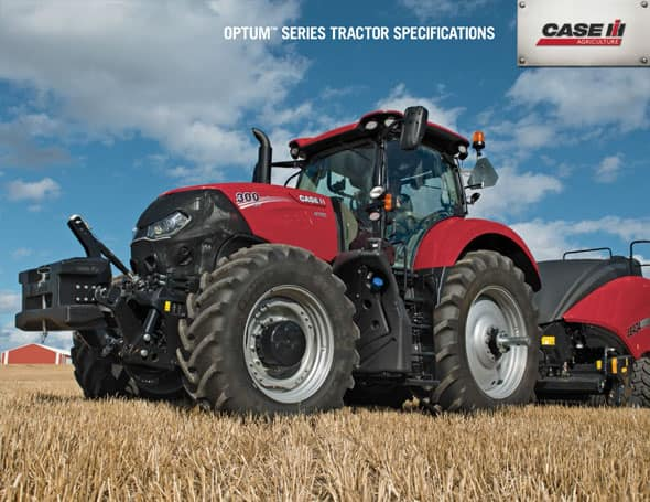 Optum Series Tractors Spec Sheet