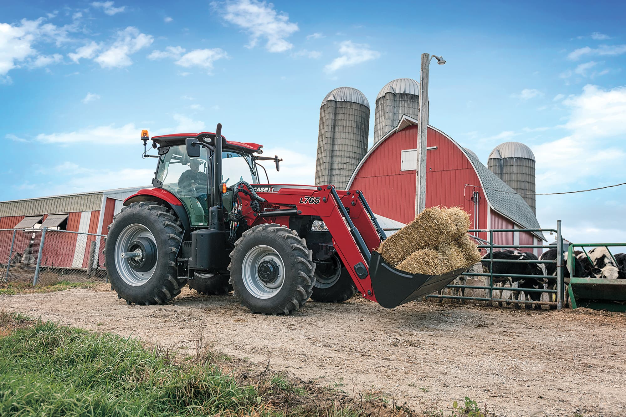 Power, Performance, and Versatility in a Mid-Size Tractor