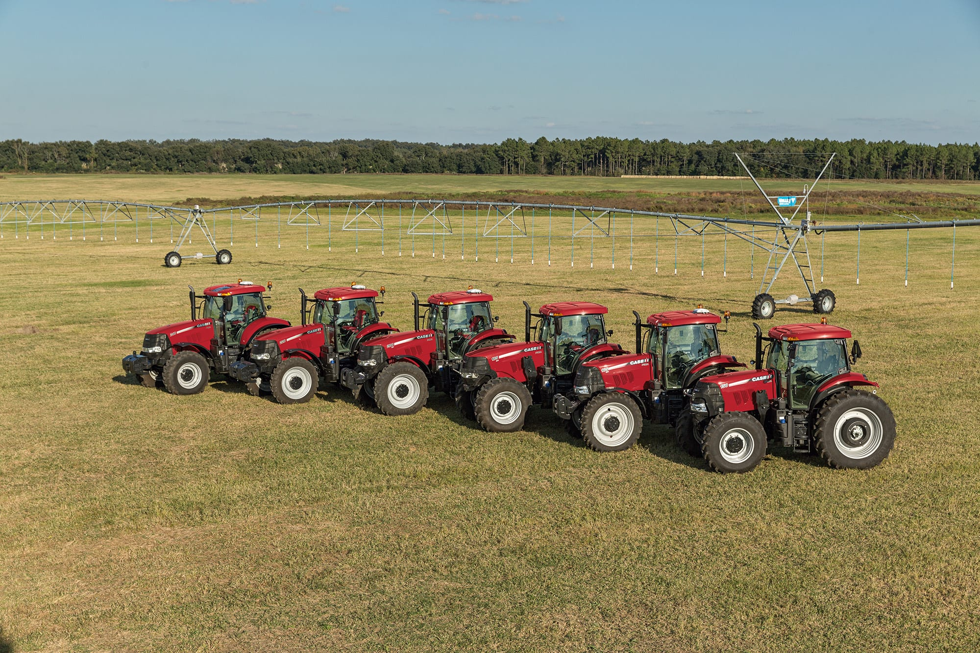 Power, Performance, and Versatility in a Mid-Size Tractor.
