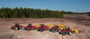 Steiger Tractors: Prime Movers on Construction Job Sites and Can Pull Scrapers for Land-Leveling, Site Prep and General Earthmoving