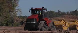 Scraper Power: Case IH Steiger and Magnum Series Tractors