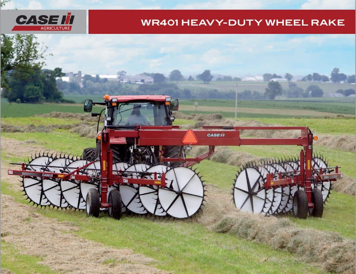 WR401 Heavy-Duty Wheel Rake Spec Sheet
