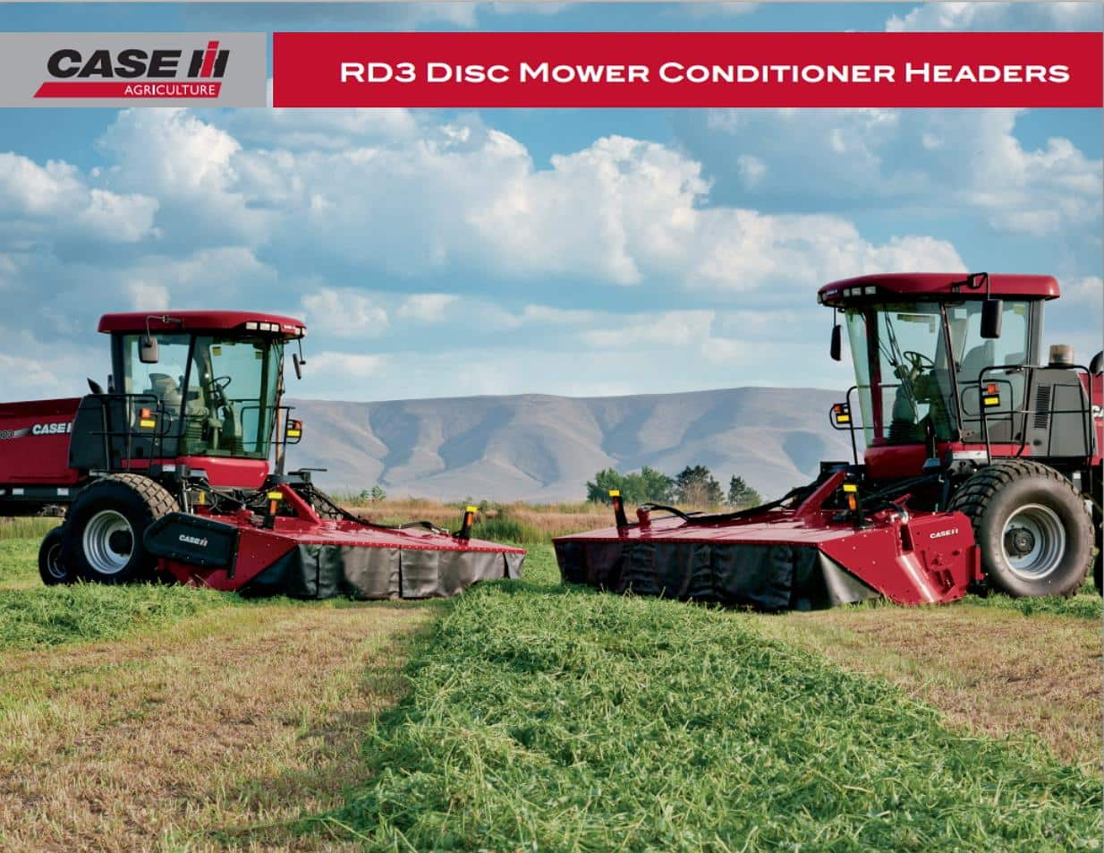 RD3 Disc Mower Conditioner Spec Sheet
