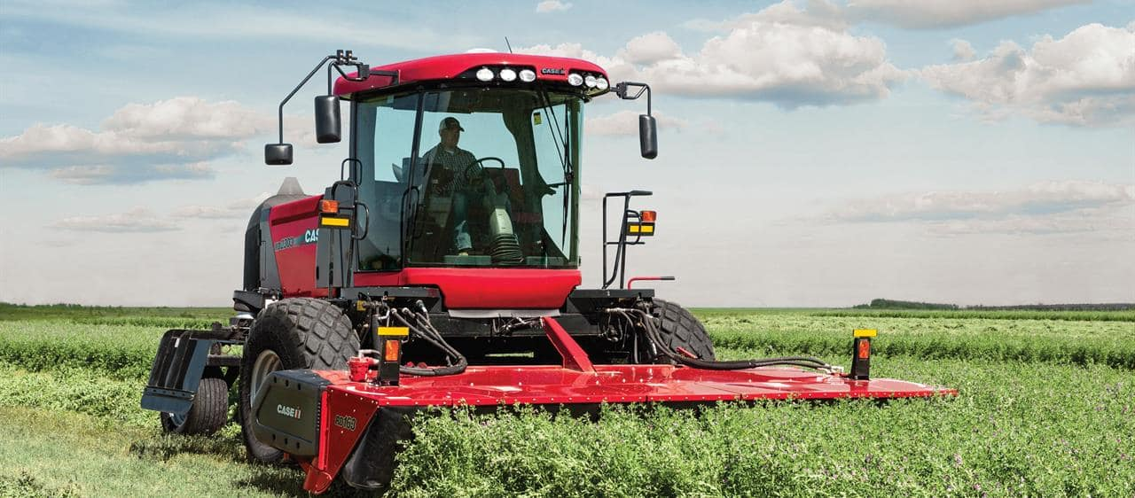 Rotary Disc Headers Windrowers Amp Swathers Case Ih