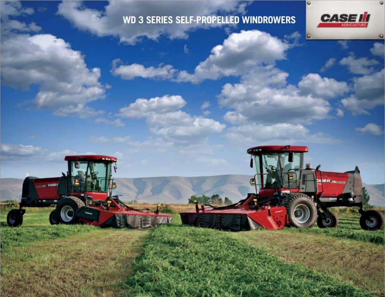 WD 3 Series Self Propelled Windrowers
