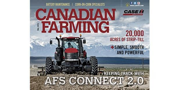 Canadian Farming Fall 2015