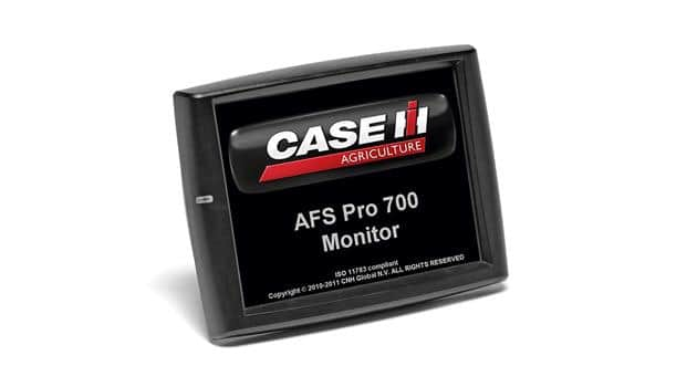 AFS Pro 700 Display & Support Documents | Case IH