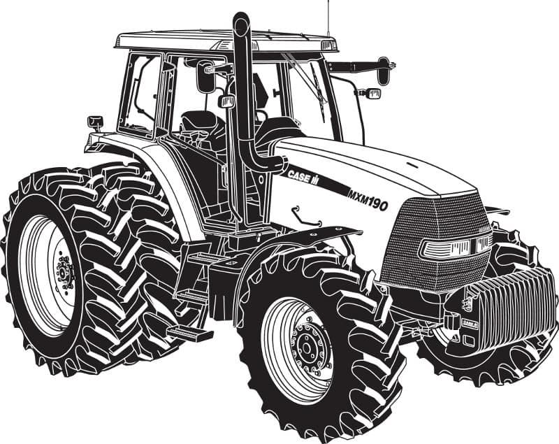 Case IH Vintage Tractor piezas Catálogo motores de las cargadoras y más excavadoras tractores