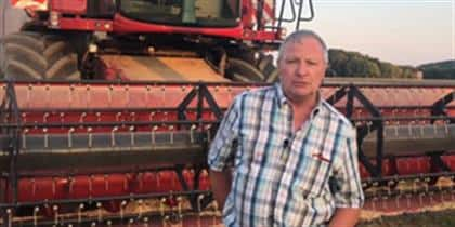 Robin McArd, Harvester Sales Manager