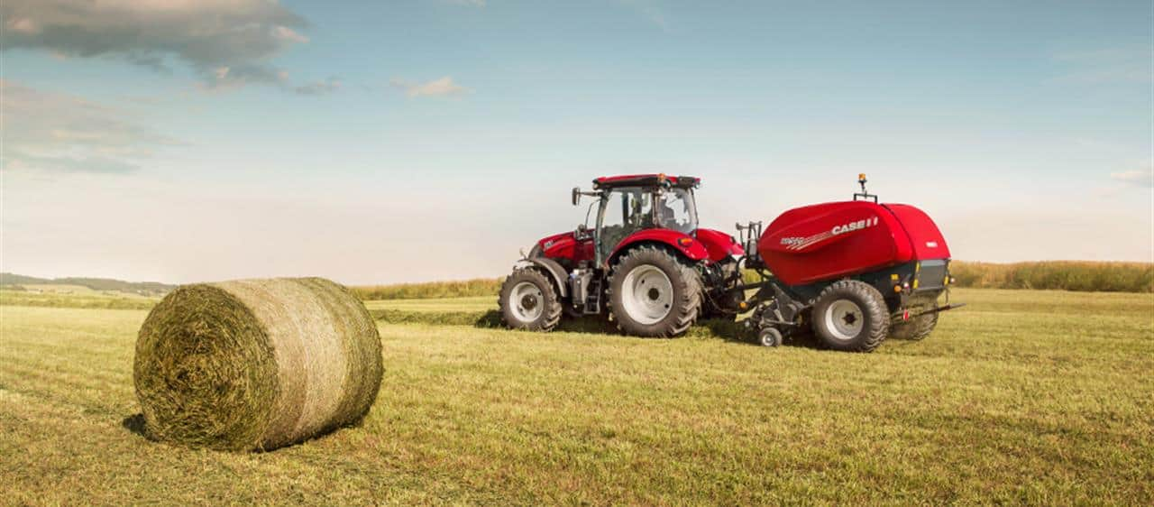 New round balers from Case IH convince with their powerful impact and clever details