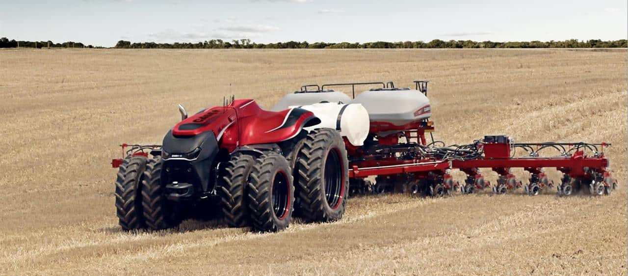 Case IH Premiärvisar ett konceptfordon vid Farrm Progress Show
