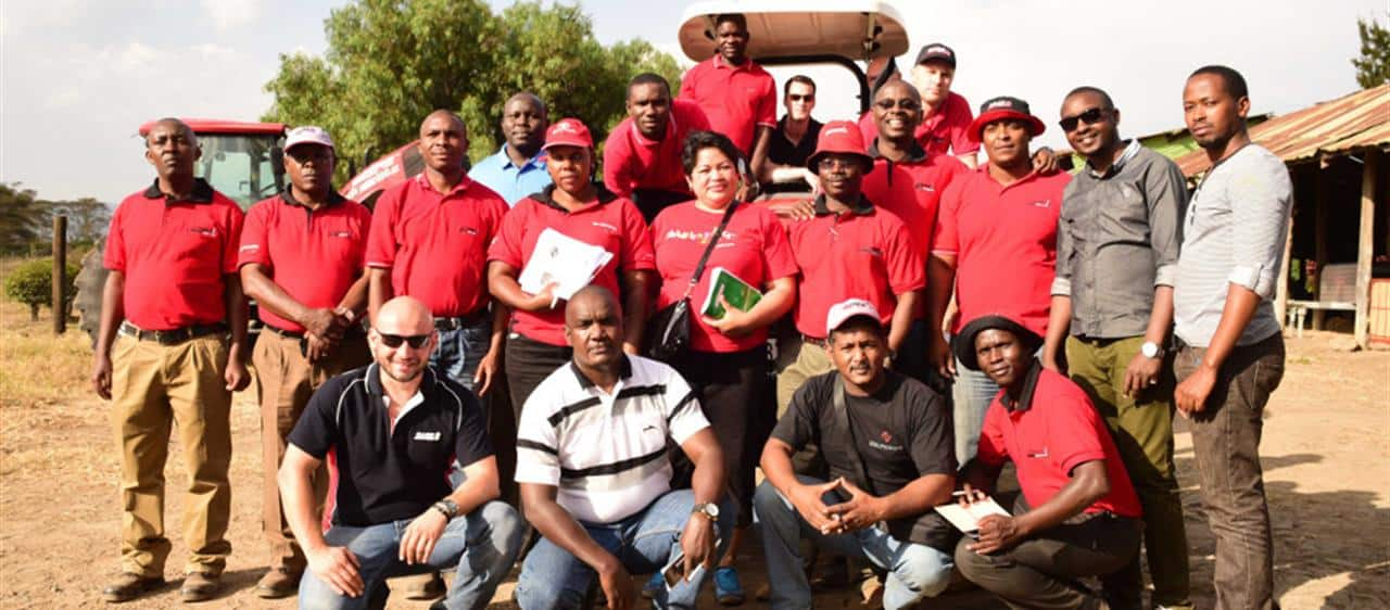 Kenya hosts Case IH commercial and operator training