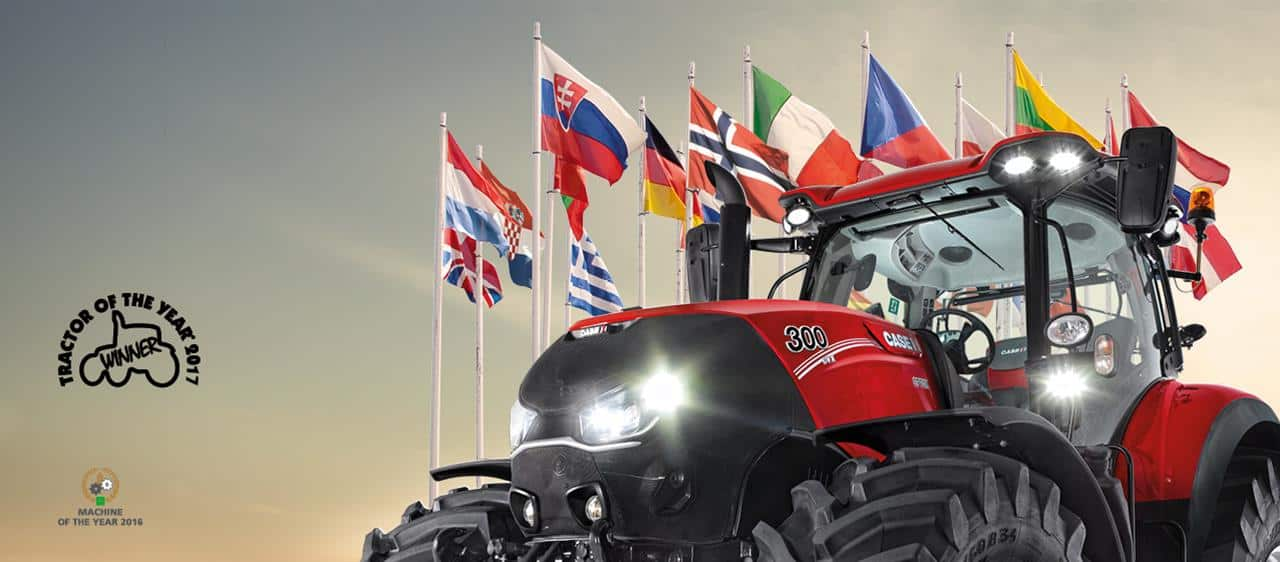 Case IH décroche le titre 'Tractor of the Year' 2017 avec son Optum 300 CVX