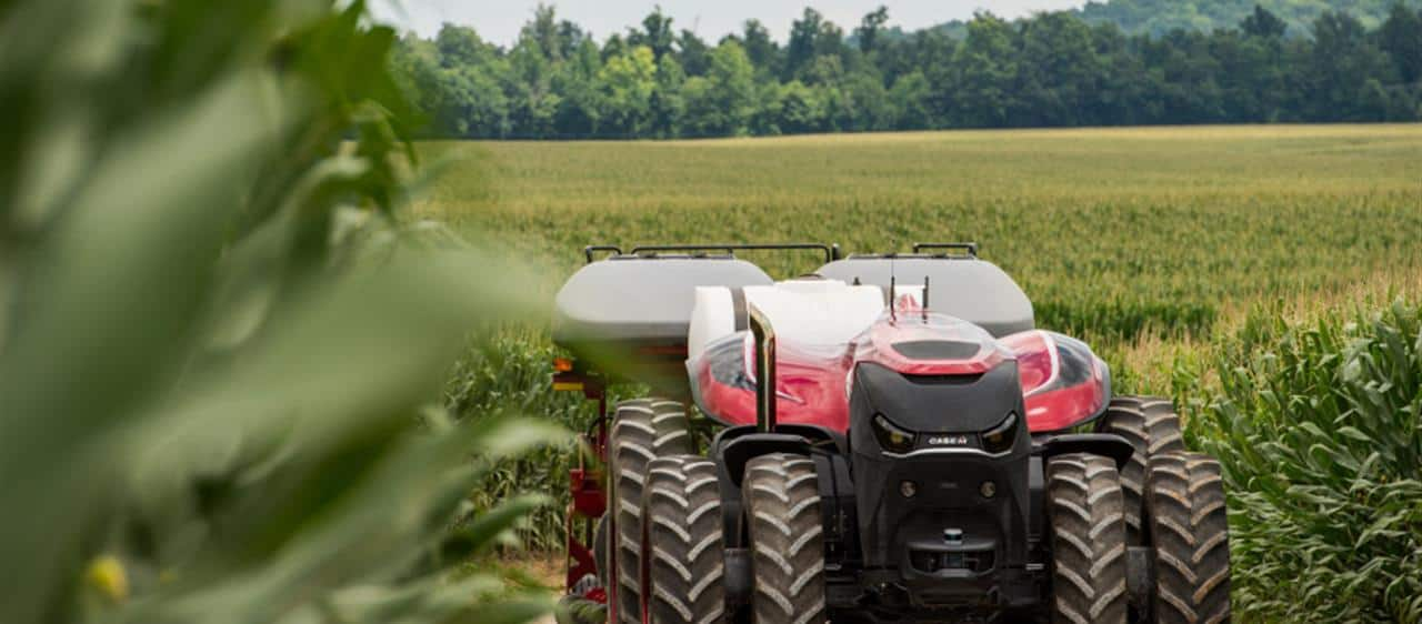 Autonomous tractor technology shows way forward for farming