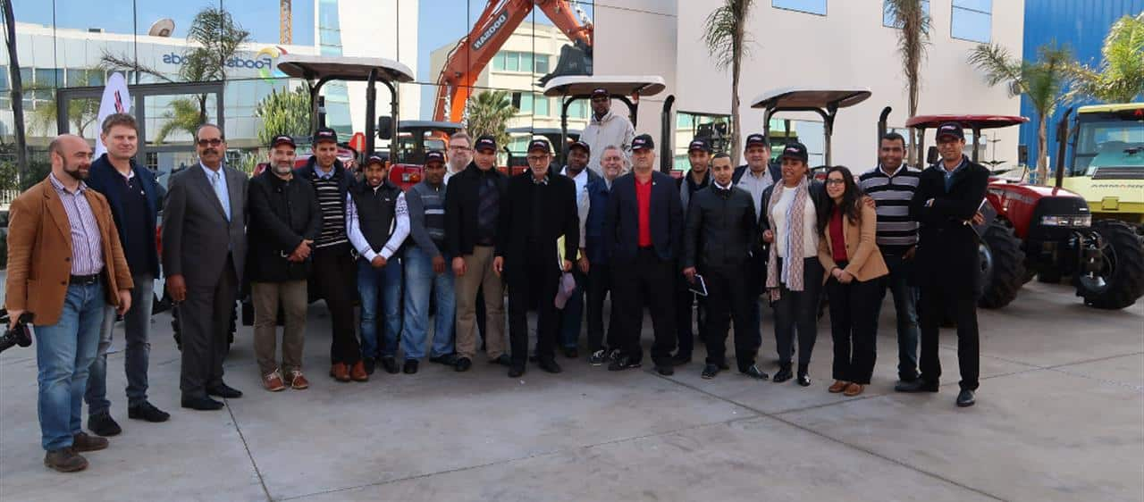 Case IH distributor training in Tunisia and Morocco
