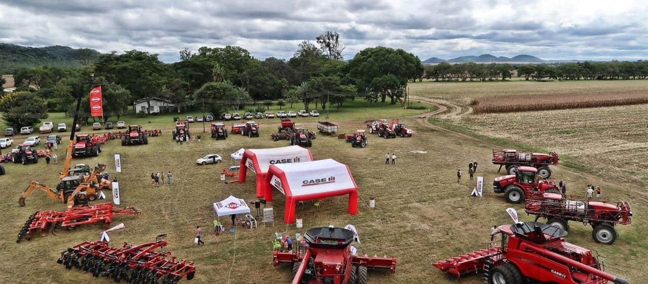Case IH demonstrates power of efficient farming at Customer Day in Zimbabwe