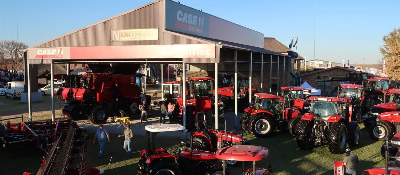 Case IH showcases its track technology at Nampo 2017