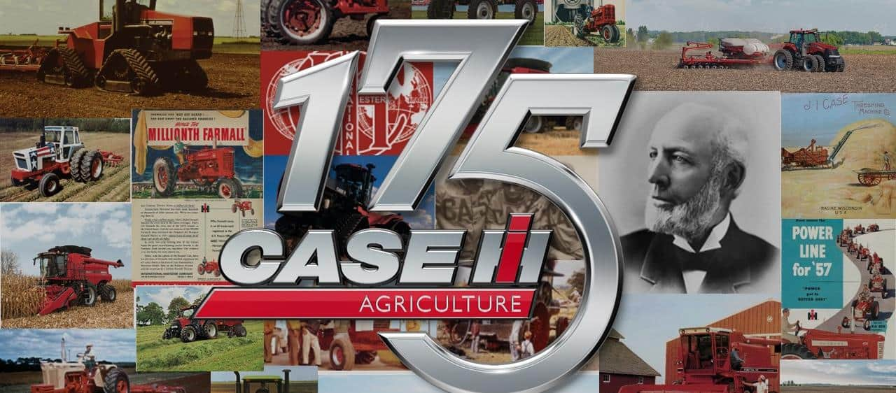 Case IH marks 175th anniversary with launch of the first full-track CVT tractor and updates to mid-range models