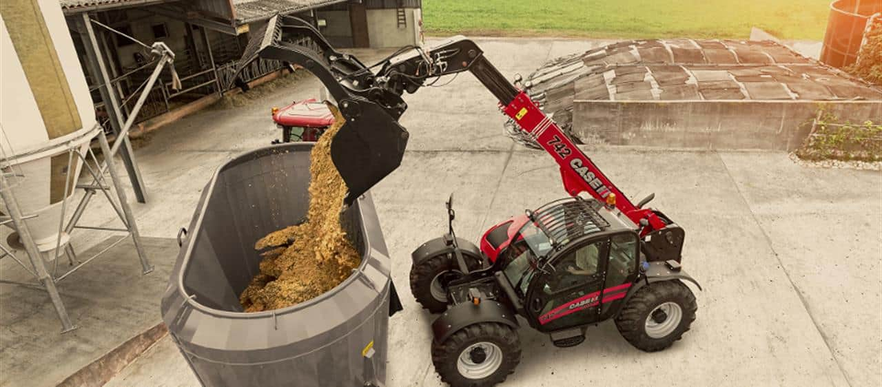 Updated Case IH Farmlift telescopic loader models to make their debut at Agritechnica 2017
