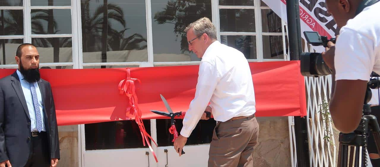 Official opening of new Case IH Training Academy to help improve Zimbabwean agricultural productivity