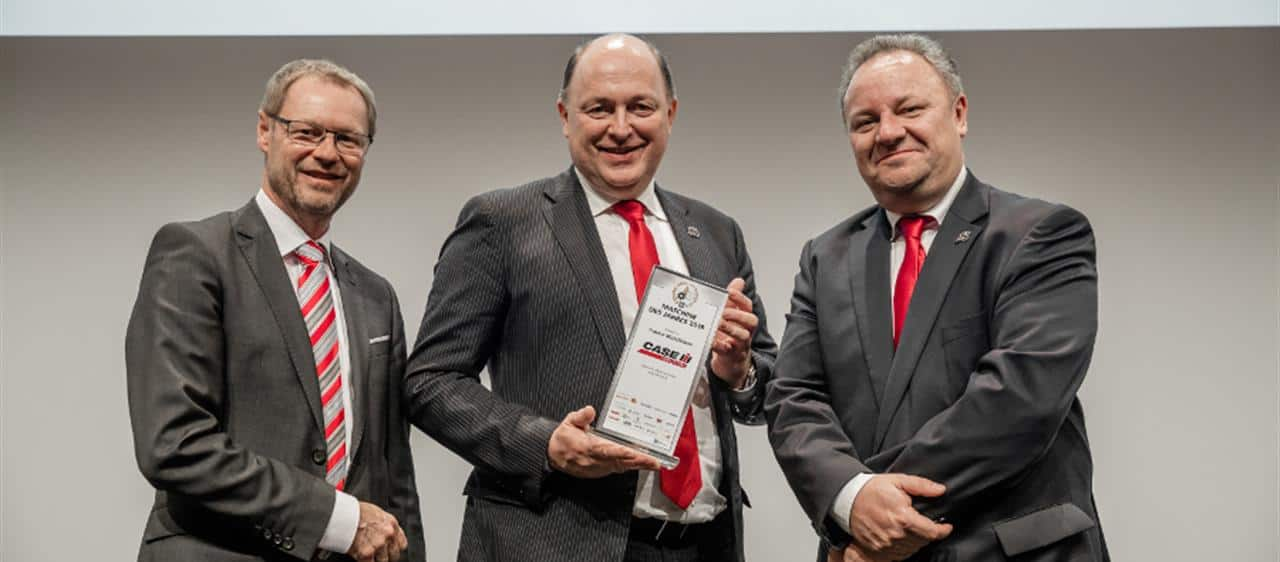 Case IH wins Machine of the Year 2018 title