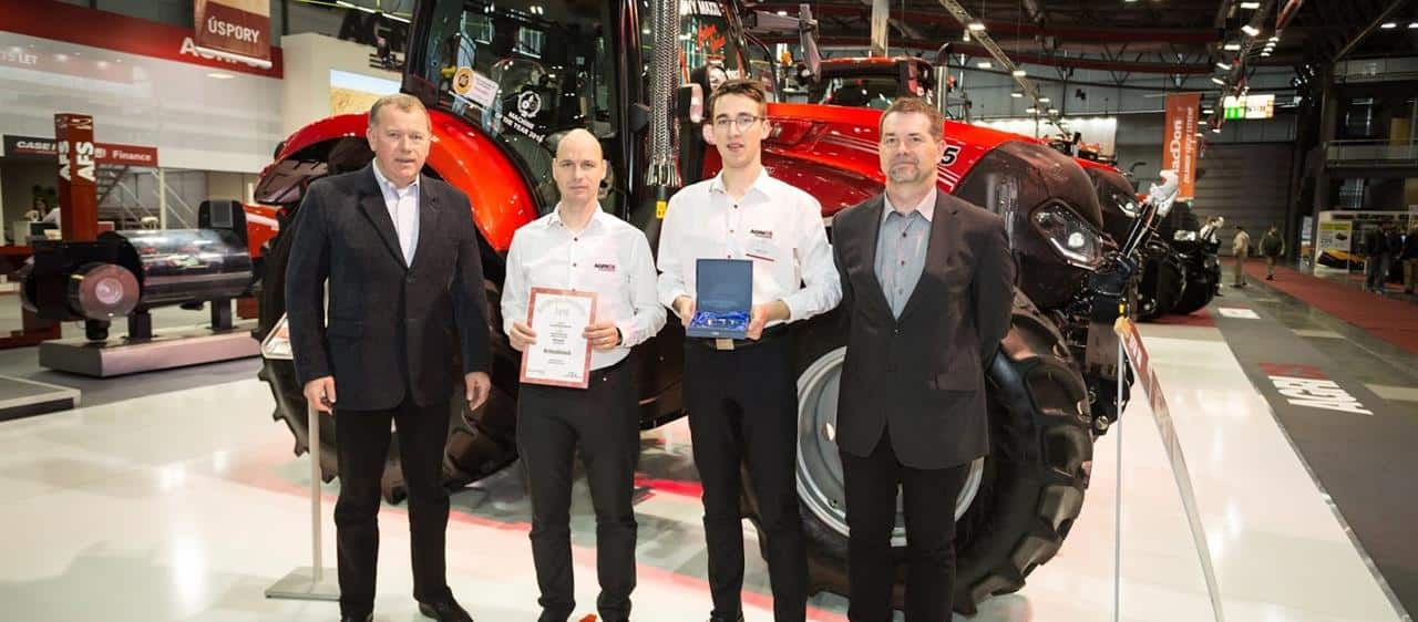 Case IH wins three prestigious awards at the TECHAGRO 2018 international exhibition in Czech Republic