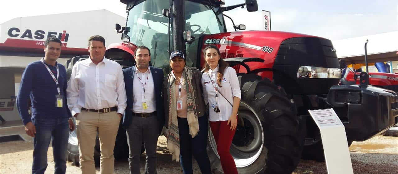 Case IH exhibited its tractor and baler offering at SIAM 2018
