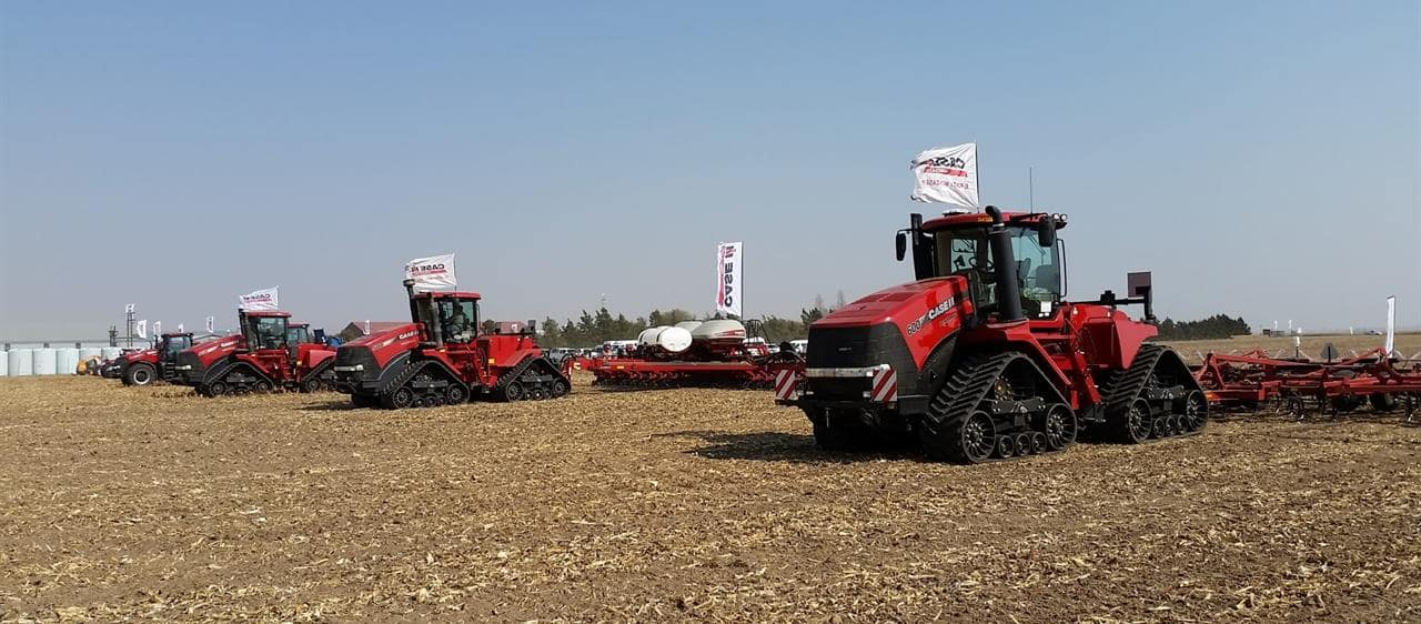 Case IH demonstrates new 2000 Series Early Riser planter at Annual Farmers Day in South Africa