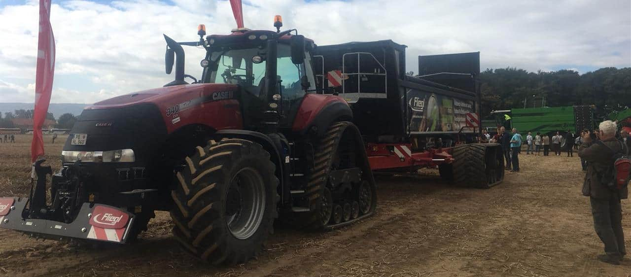 Case IH gets behind potato farming's highlight event