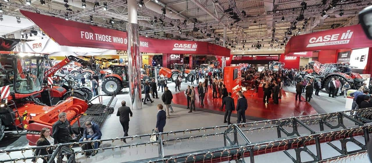 Case IH high-end technology and connectivity showcased at Agritechnica 2019