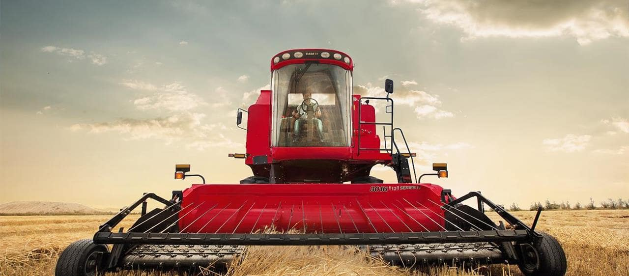 Les moissonneuses-batteuses Axial-Flow de la série 4000 de Case IH attirent l'attention du monde entier