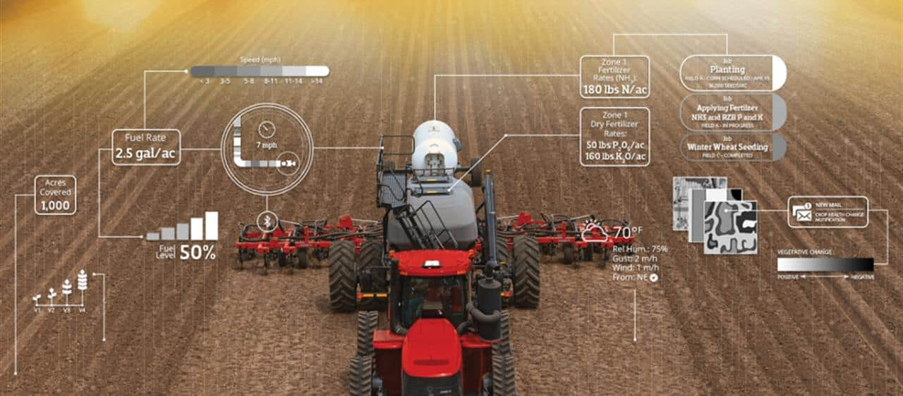 Case IH has entered into a strategic digital agriculture agreement with Farmers Edge