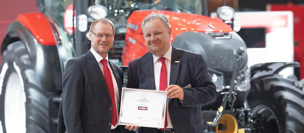Case IH Versum CVXDrive met Fase V-motor Quadtrac CVXDrive uitgeroepen tot Machine of the Year 2019