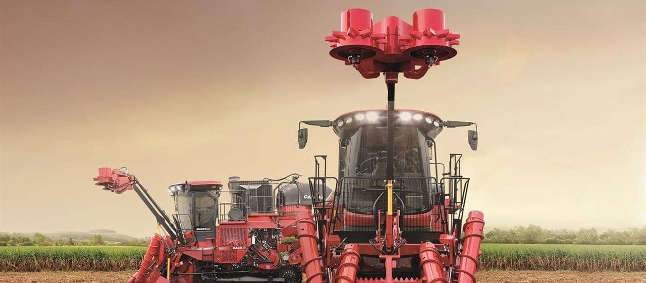 Case IH launches new Austoft® 8010 and 8810 sugarcane harvesters in Africa and Middle East