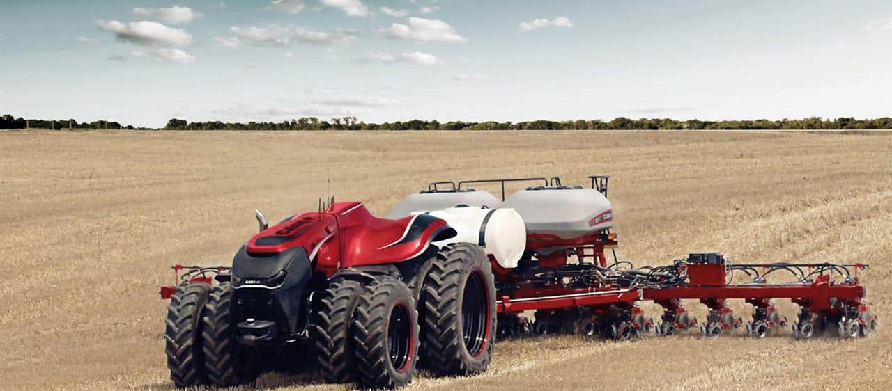 UK début for Case IH Autonomous Concept Tractor at Goodwood Festival of Speed