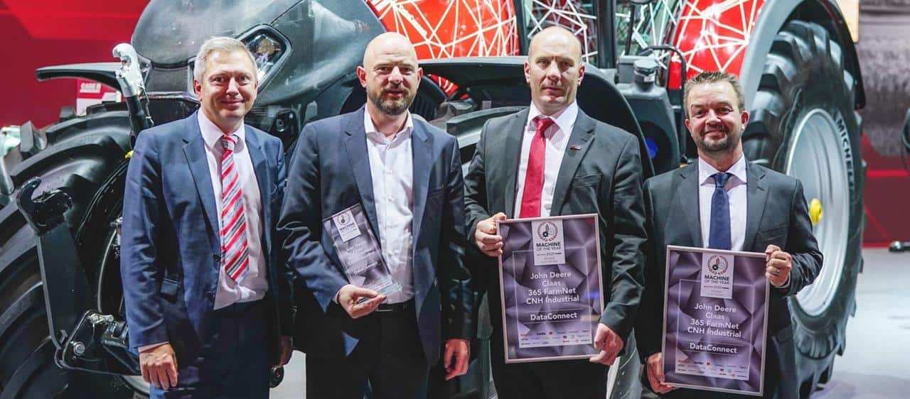 "Case IH modtager to ""Machine of the Year"" priser pa Agritechnica 2019"