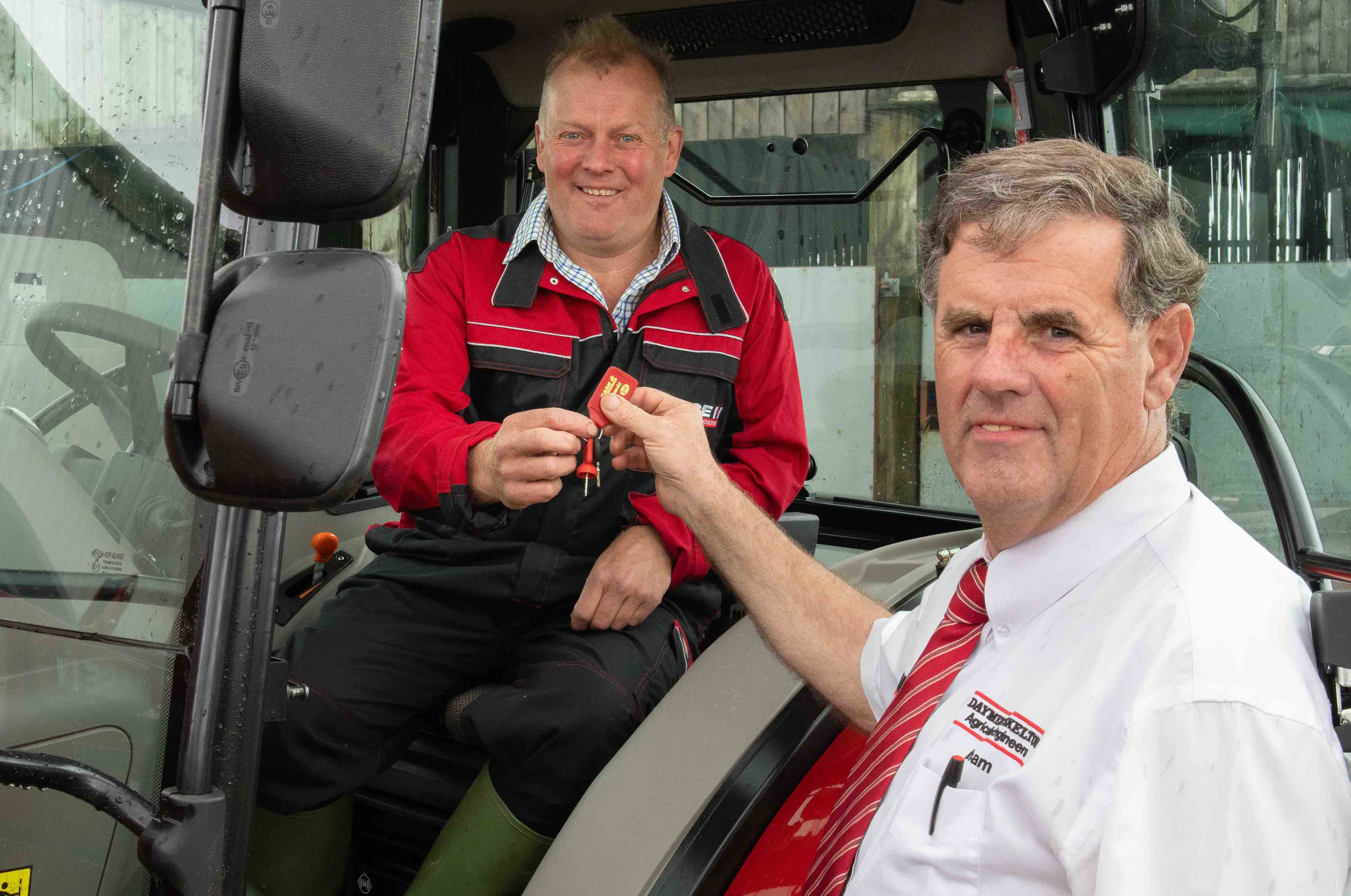South Devon Farmer wins six months' use of Case IH Farmall A tractor