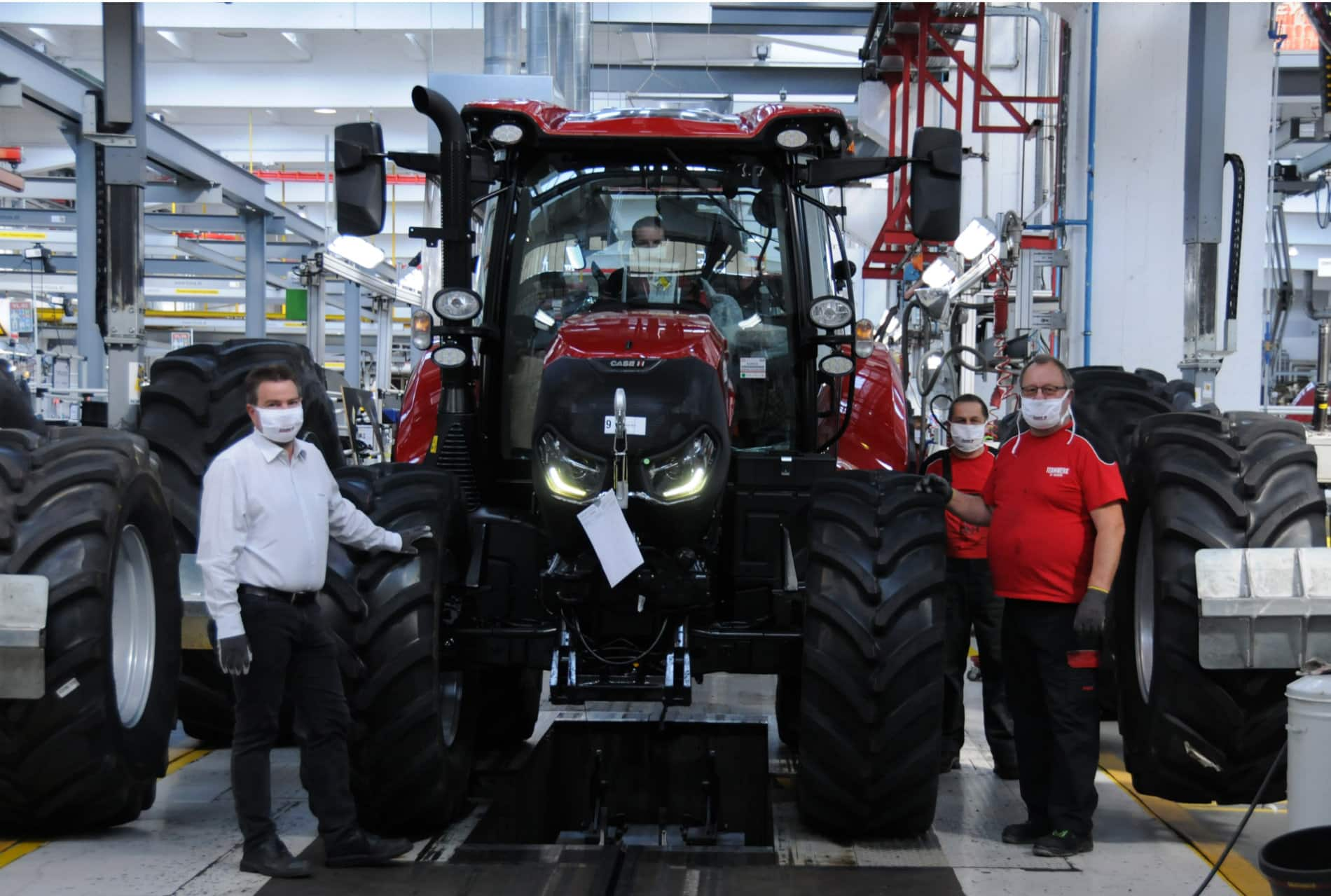 Case IH and STEYR factory wins prestigious award
