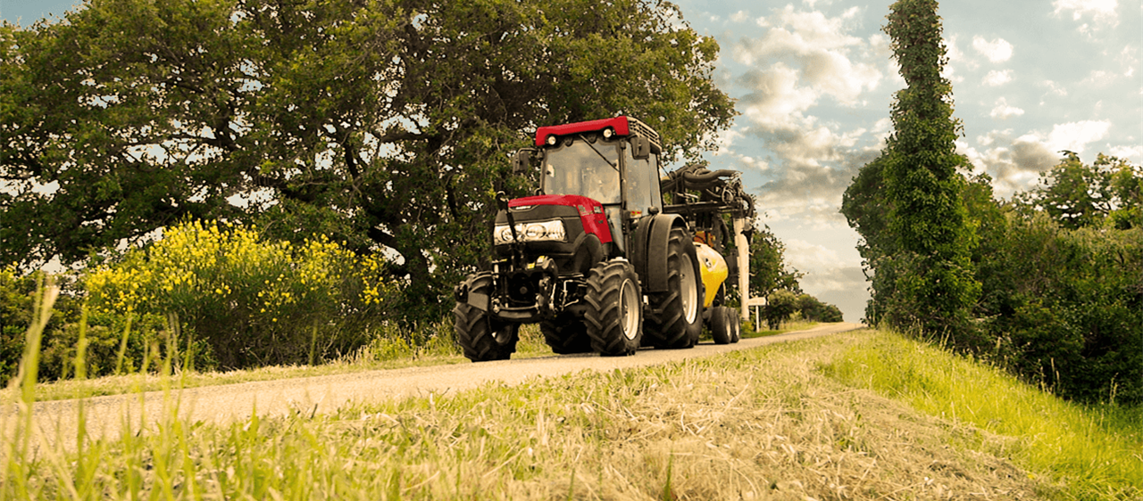 New suspended front axle option brings greater working comfort to Case IH Quantum tractors