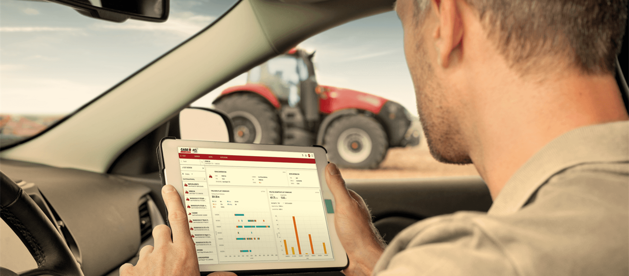 Next steps in precision farming: </br>AFS CONNECT, CONNECTIVITY SOLUTIONS TO INCREASE PRODUCTIVITY