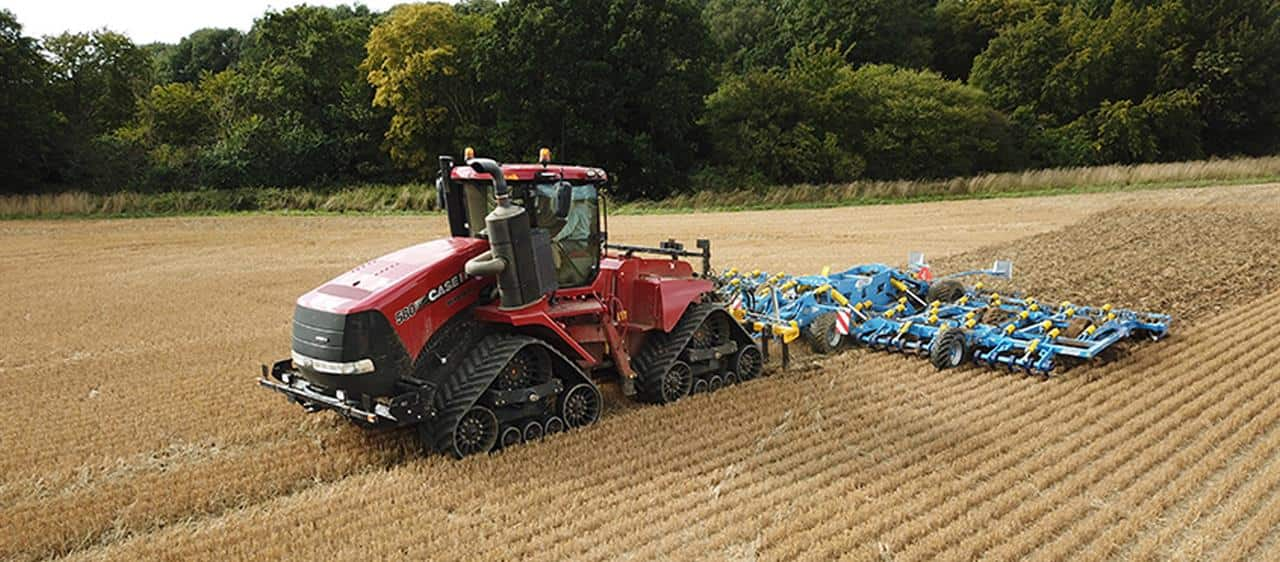 Quadtrac helps to overcome the challenges of poor autumn weather