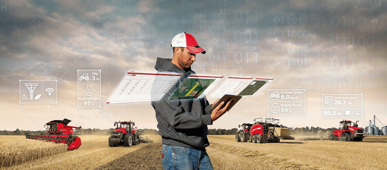 MANAGE YOUR FARM, FLEET, AND DATA
