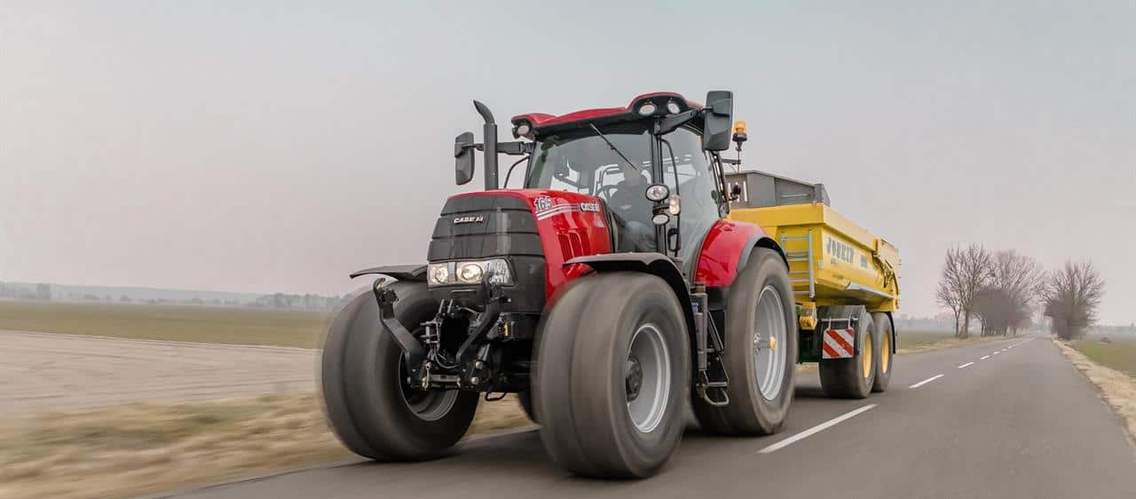 Case IH turns up the heat for extra-strong paintwork
