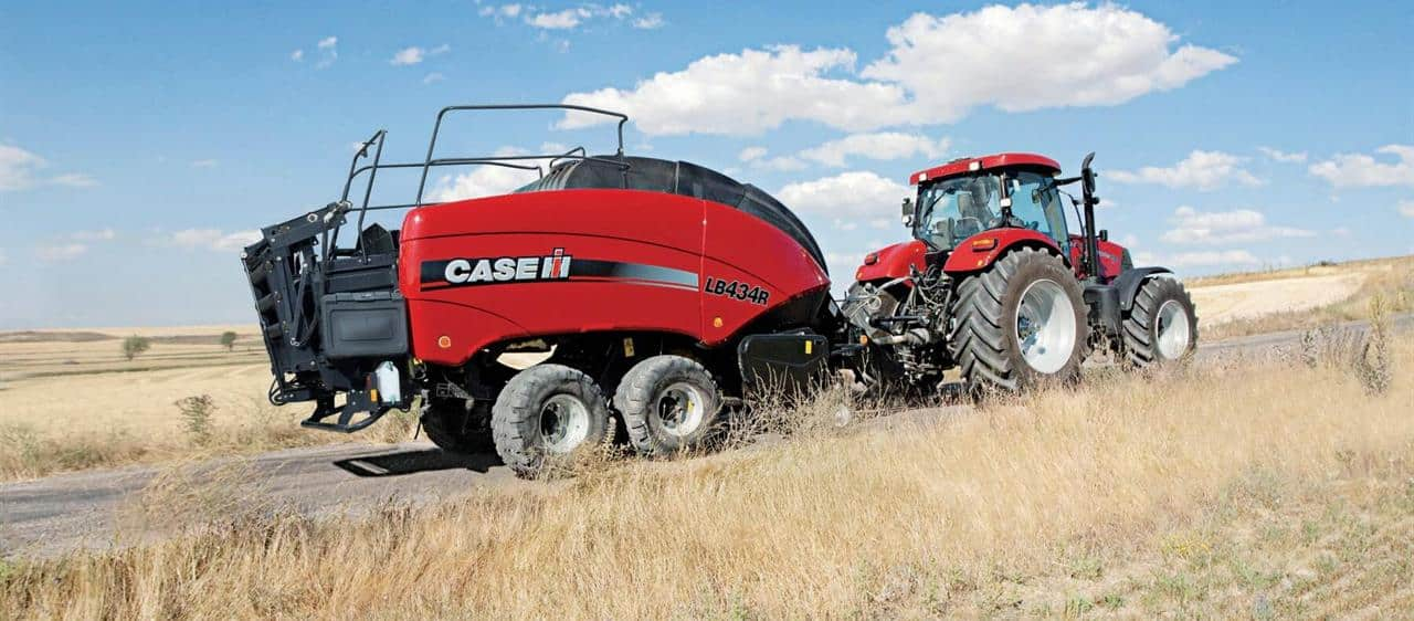 Case IH LB 434R Supersize Baler Feeds Cogeneration Power Plant in Mauritius