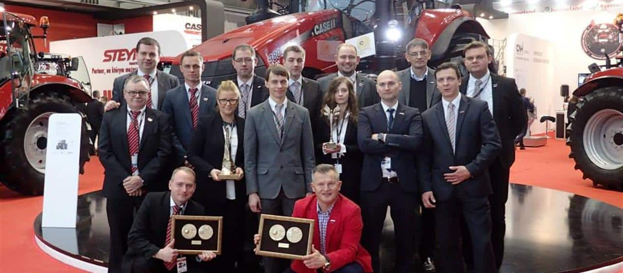 2015-03-31 Gold medal at AGROTECH in Poland - Magnum continues to surf the wave of success