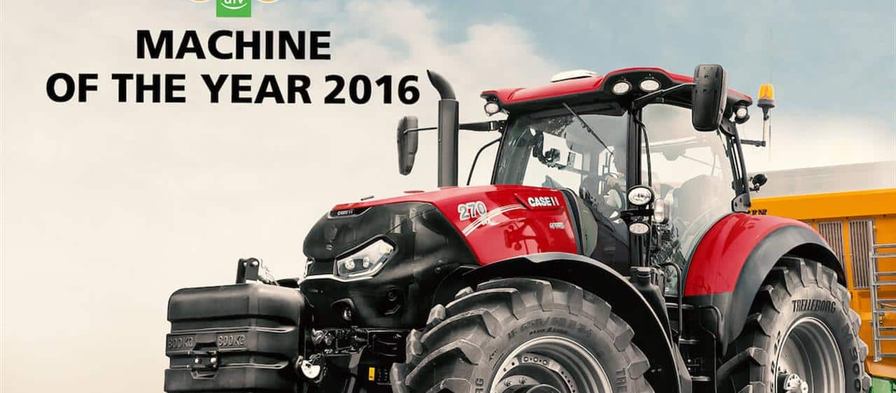 Il nuovissimo Optum CVX vince il Machine of the Year 2016